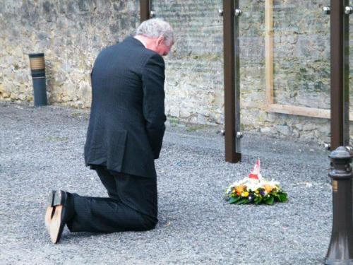 Kevin Vickers at Strokestown 1490 memorial