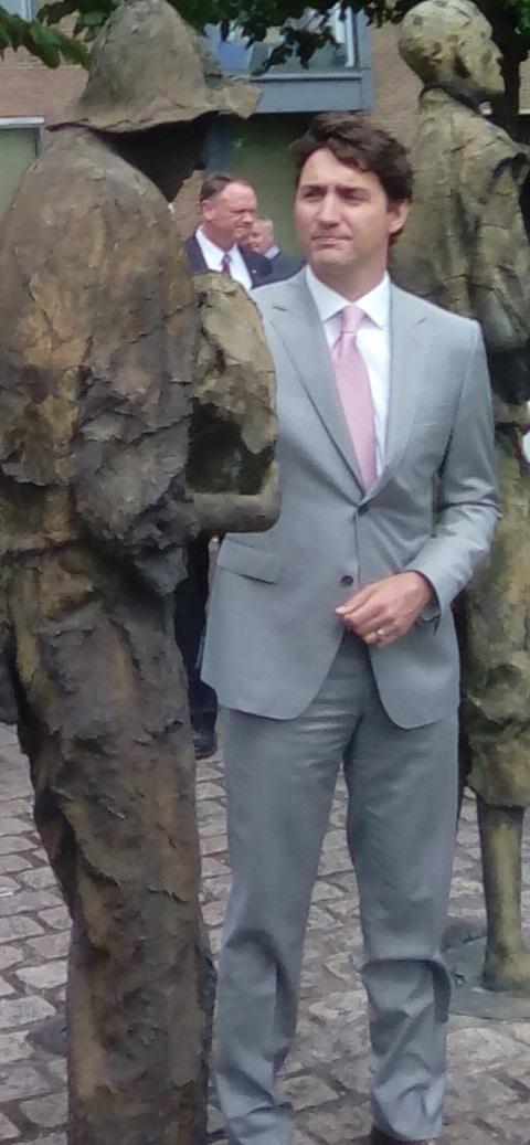 Trudea Dublin Monument 1
